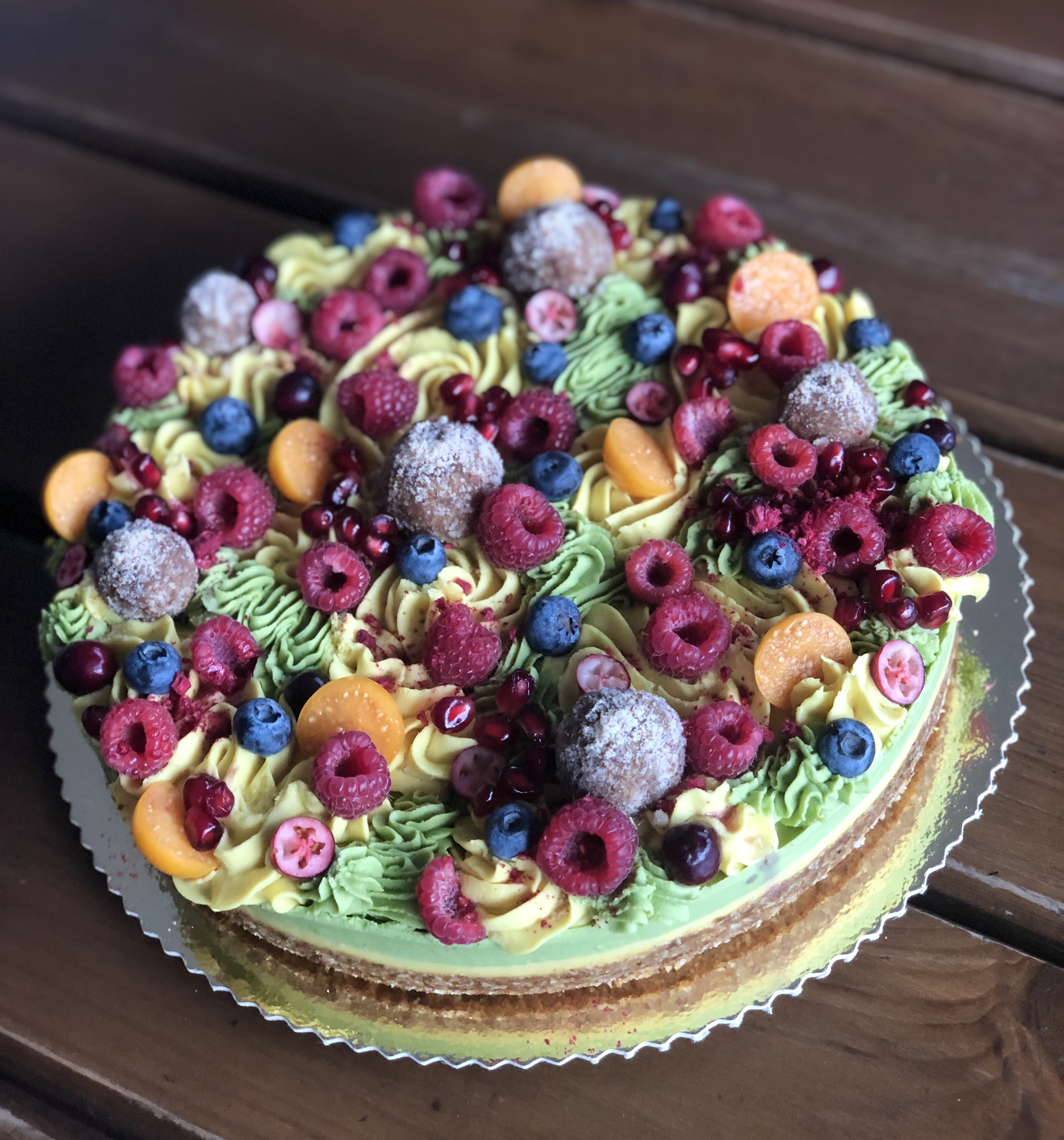 Zasypaná torta