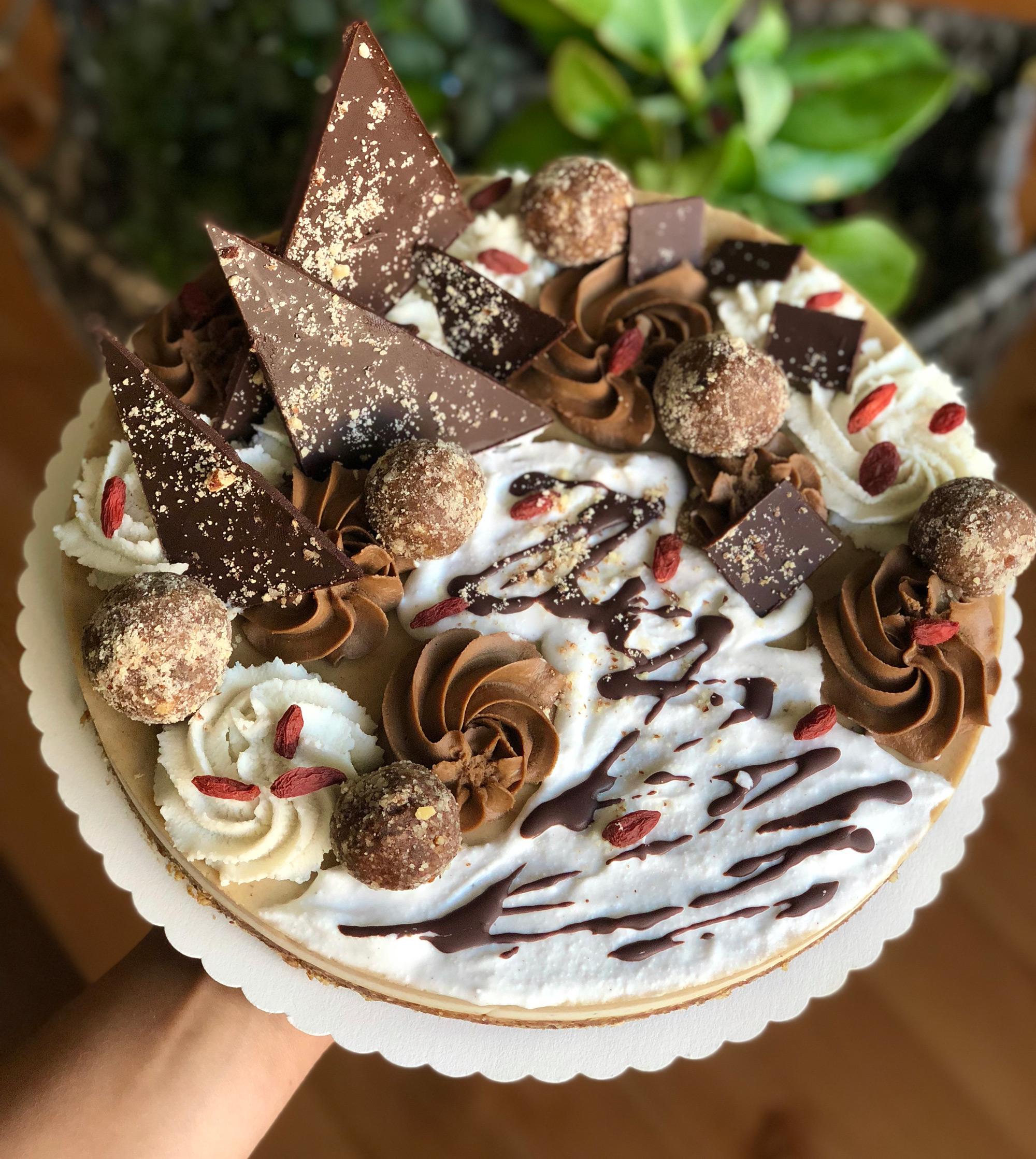 Slaný karamel a čokoláda